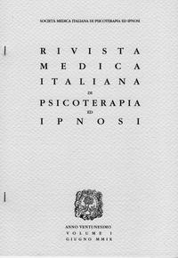 Rivista Medica Italiana di Psicoterapia e Ipnosi